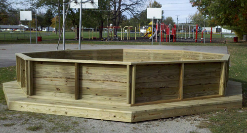 gaga pit donated by 3D Company, Inc.